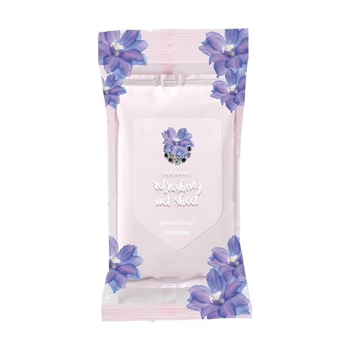 【10点SET】Fragrance Refreshing Wet Sheet(Maria Regale)/フレグランスリフレッシングウェットシート(マリアリゲル)