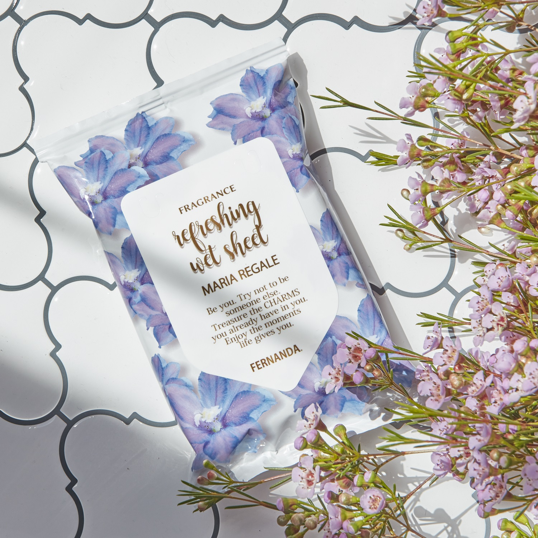Fragrance Refreshing Wet Sheet(Maria Regale White)/フレグランスリフレッシングウェットシート(マリアリゲルホワイト)