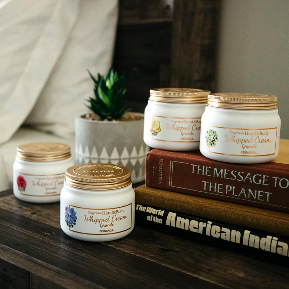 Fragrance Hand & Body Whipped Cream Grande (Maria Regale)/フレグランスハンド&ボディホイップクリーム グランデ(マリアリゲル)