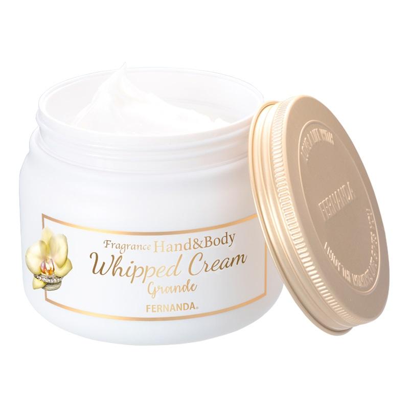 Fragrance Hand & Body Whipped Cream Grande (Lilly Crown)/フレグランスハンド&ボディホイップクリーム グランデ(リリークラウン)