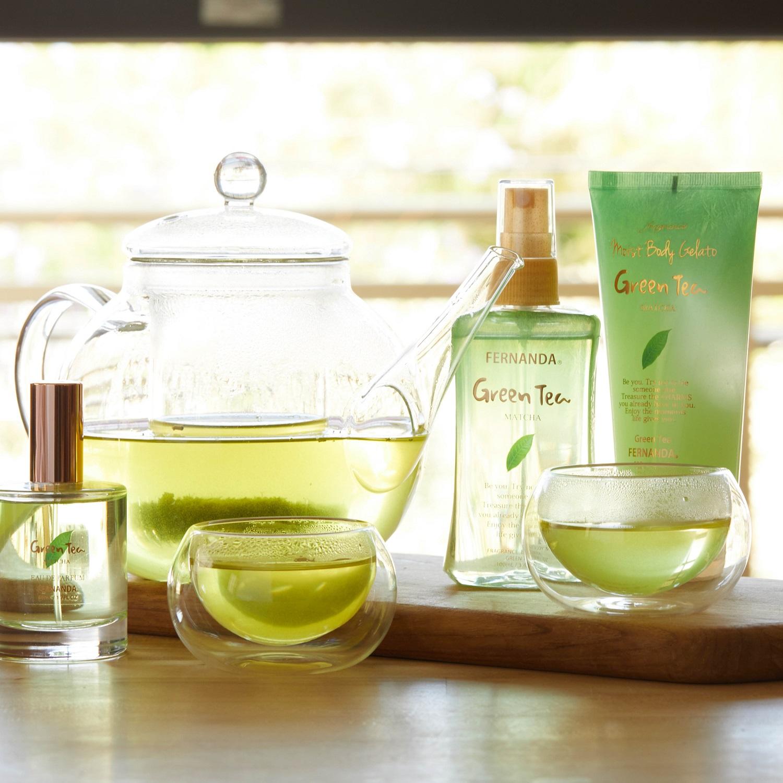Fragrance Body Mist (Green Tea)/フレグランスボディミスト(グリーンティ)