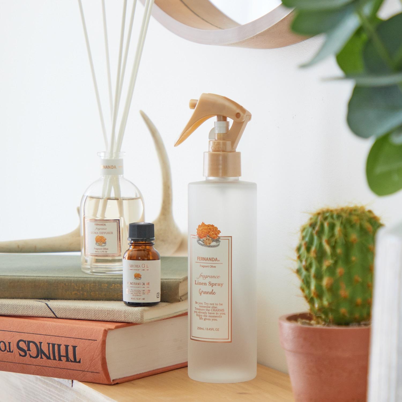 Fragrance Linen Spray Grande(Fragrant Olive)/フレグランスリネンスプレーグランデ(フレグラントオリーブ)