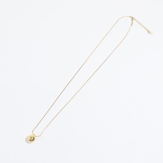 Blue Rank Onetop Ball Long Necklace