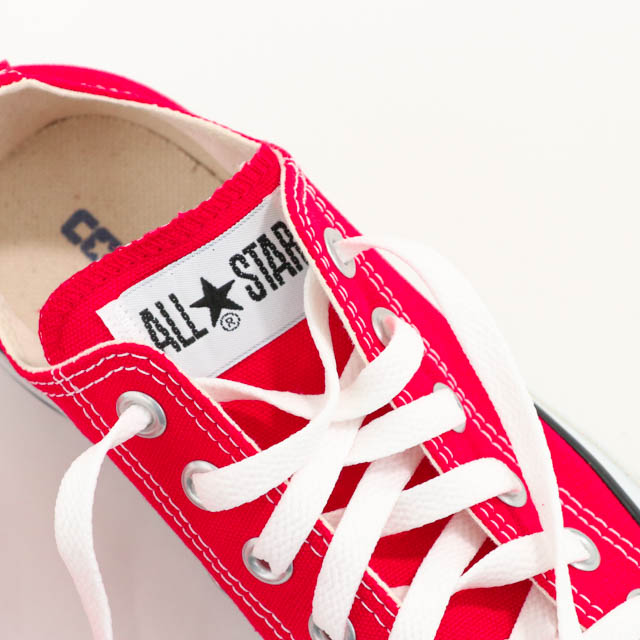 CONVERSE CANVAS ALL STAR OX - RED