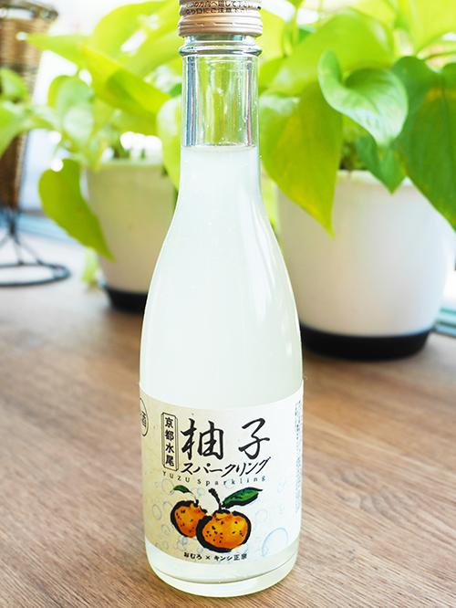 京都水尾 柚子スパークリング 【当店限定スパークリング】