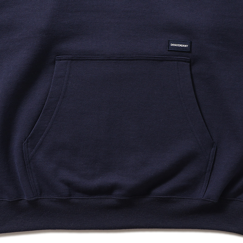 DESCENDANT BOX HOODED SWEATSHIRT - 202ATDS-CSM23