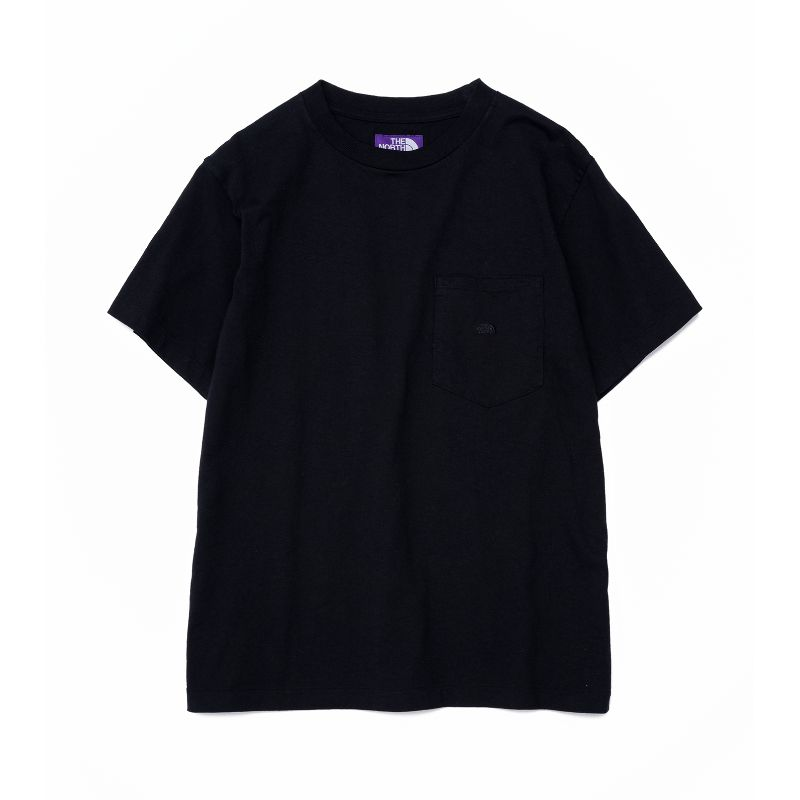 THE NORTH FACE PURPLE LABEL 7oz H/S Pocket Tee - NT3059N