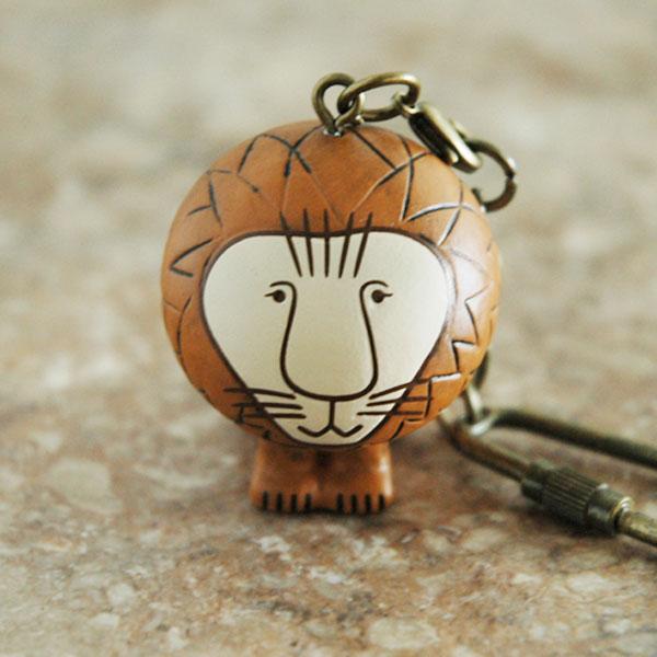 リサラーソン・キーホルダー Lion(ライオン) Lisa Larson