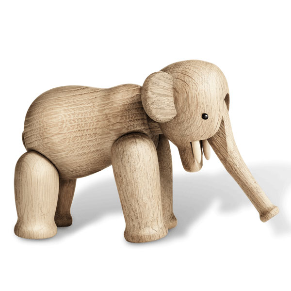 Kay Bojesen(カイ・ボイスン) Elephant(エレファント)ゾウ 木製オブジェ デンマーク