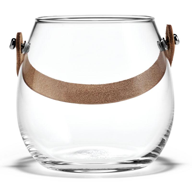 DESIGN WITH LIGHT JAR(デザインウィズライト)ガラスポットH=10cm フラワーベース HOLMEGAARD(ホルムガード)