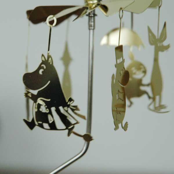 Moomin Family Gold(ムーミンファミリー・ゴールド)ROTARY CANDLE HOLDER ロータリーキャンドルホルダーPluto(プルート)