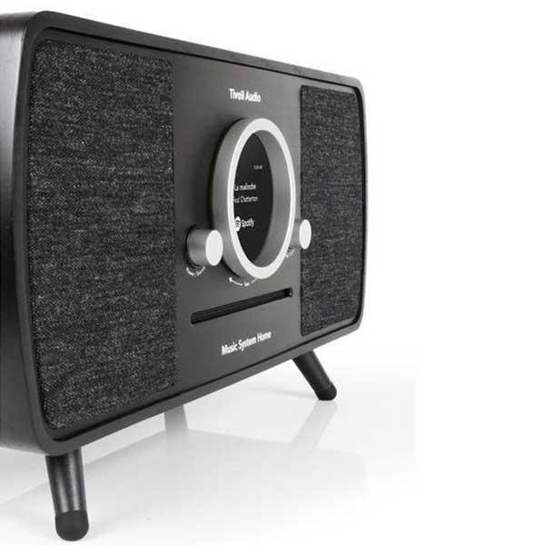 Music System Home(ミュージックシステム ホーム)スマートHi-Fiシステム ブラック×ブラック/ラジオ/Tivoli Audio(チボリオーディオ)