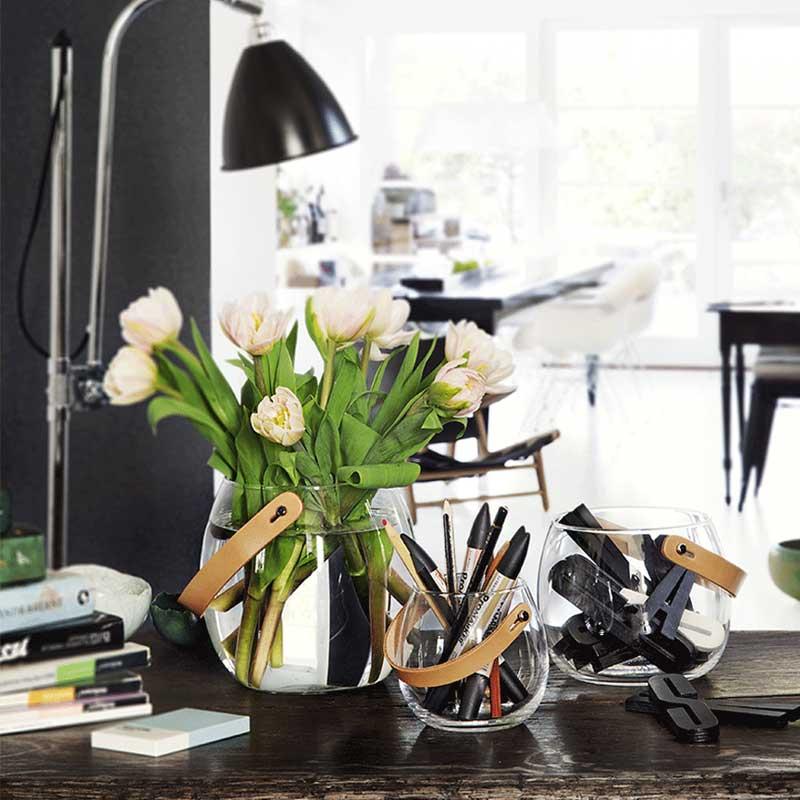 DESIGN WITH LIGHT JAR(デザインウィズライト)ガラスポットH=12cm HOLMEGAARD(ホルムガード)