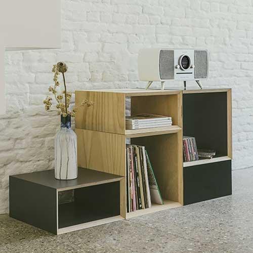 Music System Home(ミュージックシステム ホーム)スマートHi-Fiシステム ホワイト×シルバー/ラジオ/Tivoli Audio(チボリオーディオ)