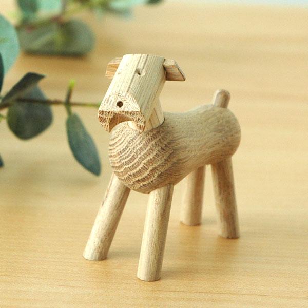 Kay Bojesen(カイ・ボイスン) DOG Tim(ドッグ・ティム)ナチュラルオーク 木製オブジェ デンマーク 39212