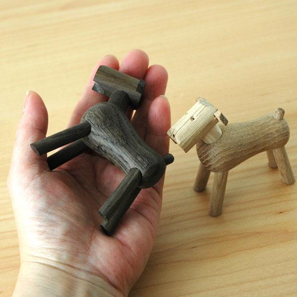 Kay Bojesen(カイ・ボイスン) DOG Tim(ドッグ・ティム)スモークオーク 木製オブジェ デンマーク