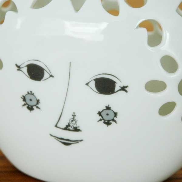 ビヨン・ヴィンブラッド Bjorn Wiinblad Flower Bowl(フラワーボウル)Flora H10cm 北欧デンマーク 55280