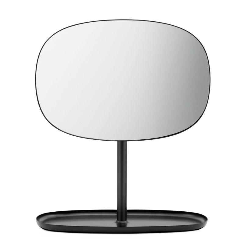 Flip Mirror(フリップ・ミラー)ブラック normann COPENHAGEN(ノーマンコペンハーゲン)デンマーク 卓上ミラー