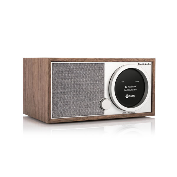 Model One Digital(モデル・ワン デジタル)ウォールナット×グレー/ラジオ/Tivoli Audio(チボリオーディオ)