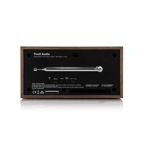 Model One Digital(モデル・ワン デジタル)Generation2(第二世代)ウォールナット×グレー/ラジオ/Tivoli Audio(チボリオーディオ)