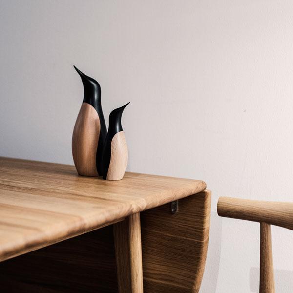 Penguin(ペンギン)スモールH18cm ARCHITECTMADE(アーキテクメイド)デンマーク 北欧木製オブジェ・置物 800