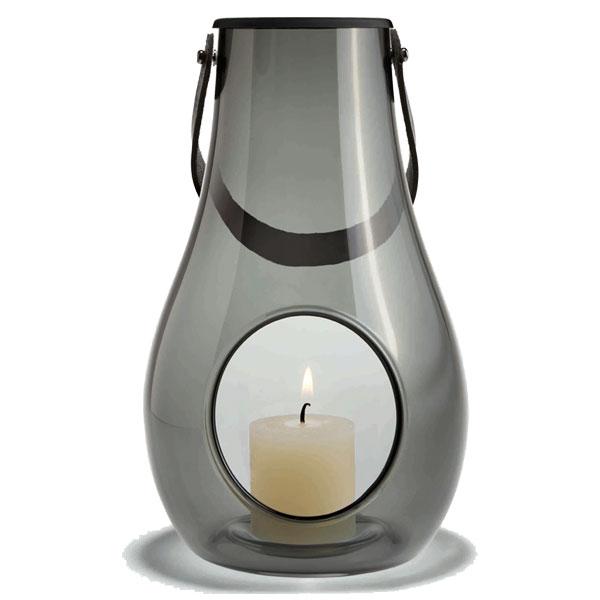 DESIGN WITH LIGHT LANTARM(デザインウィズライト)ランタン スモーク H=25cm HOLMEGAARD(ホルムガード)