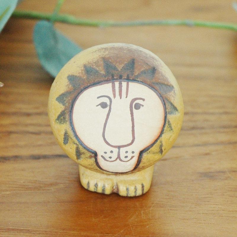 Lion(ライオン)ミニサイズ/Lisa Larson(リサ ラーソン)/北欧オブジェ・置物