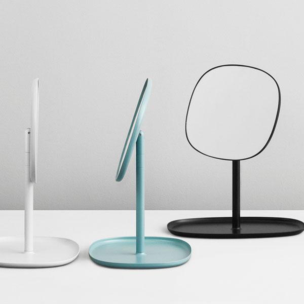 Flip Mirror(フリップ・ミラー)Dusty Blue(ダスティーブルー) normann COPENHAGEN(ノーマンコペンハーゲン)デンマーク 卓上ミラー