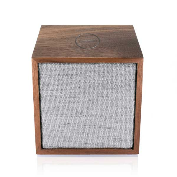CUBE(キューブ)ワイヤレススピーカー/ウォールナット×グレー/ARTシリーズ/Tivoli Audio(チボリオーディオ)