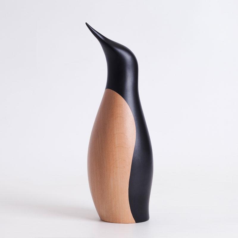 Penguin(ペンギン)ラージH26cm ARCHITECTMADE(アーキテクメイド)デンマーク 北欧木製オブジェ・置物 805