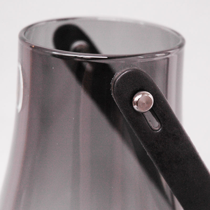 DESIGN WITH LIGHT LANTARM(デザインウィズライト)ランタン スモーク H=29cm キャンドルホルダー HOLMEGAARD(ホルムガード)