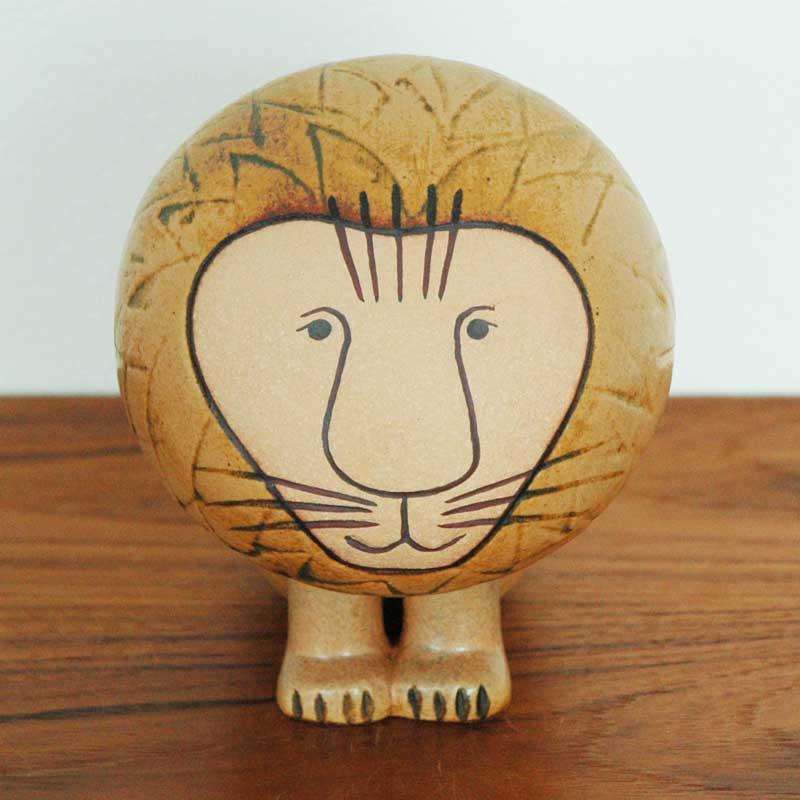 Lion(ライオン)ミディアムサイズ/Lisa Larson(リサ・ラーソン)/北欧オブジェ・置物