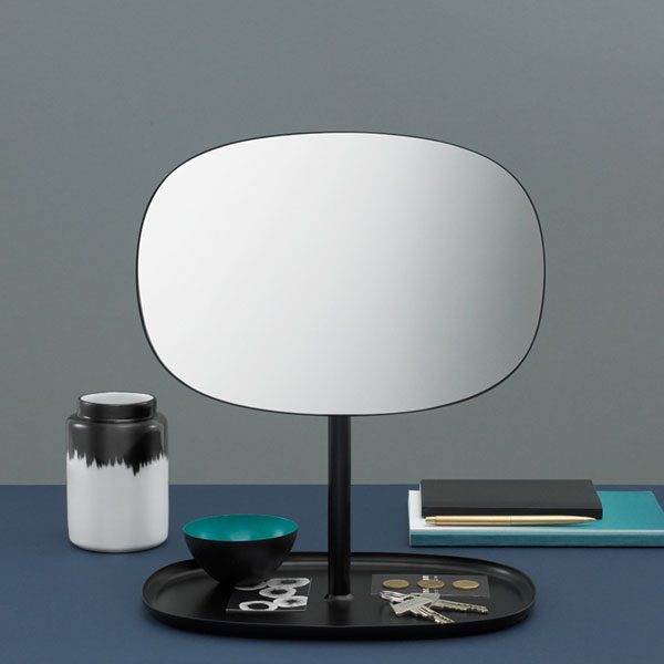 Flip Mirror(フリップ・ミラー)Blush(ブラッシュ) normann COPENHAGEN(ノーマンコペンハーゲン)デンマーク 卓上ミラー