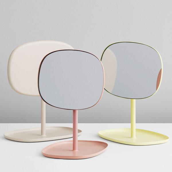 Flip Mirror(フリップ・ミラー)Lemonade(レモネード) normann COPENHAGEN(ノーマンコペンハーゲン)デンマーク 卓上ミラー