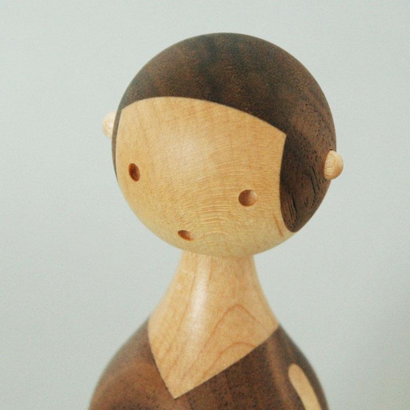KIN MOM(お母さん) H12.8cm ARCHITECTMADE(アーキテクメイド)デンマーク 北欧木製オブジェ・置物