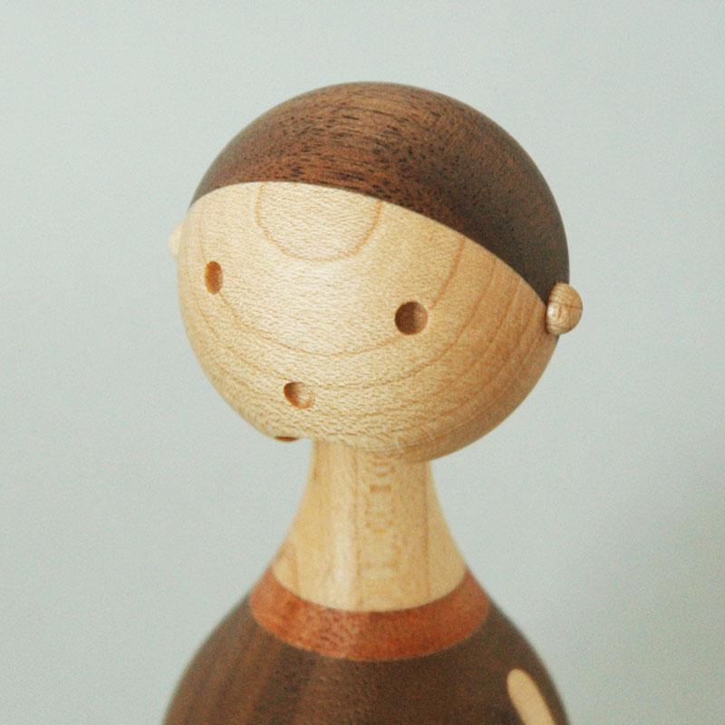 KIN BOY(男の子) H11.2cm ARCHITECTMADE(アーキテクメイド)デンマーク 北欧木製オブジェ・置物
