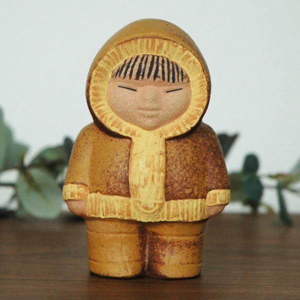 North(北のこども)世界の子どもたち Lisa Larson(リサ・ラーソン) 北欧オブジェ・置物
