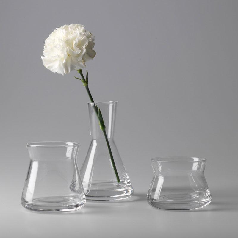 Trio Vases(トリオベース)3個セット フラワーベース・花瓶 DESIGN HOUSE stockholm(デザインハウス ストックホルム)