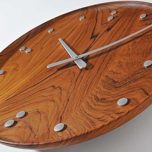 フィン・ユール 掛け時計 チーク 34.5cm Finn Juhl Wall Clock ARCHITECTMADE(アーキテクトメイド)
