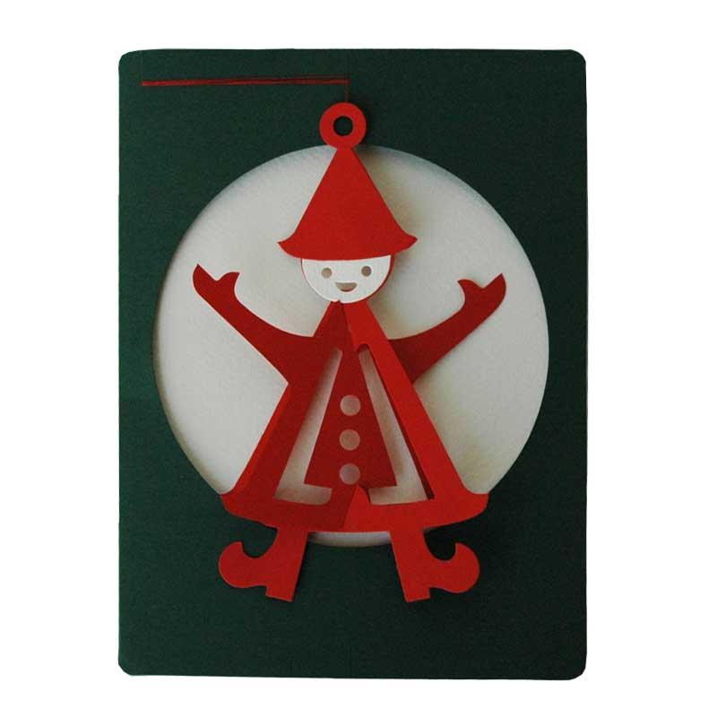 モビールクリスマスカード・Nisse(ニッセ)/クリスマスカード/Livingly