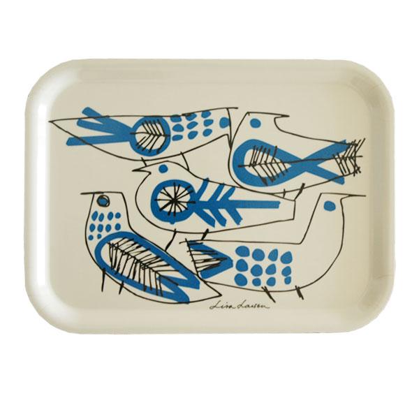 「RETRO BIRD(レトロ・バード)」Sサイズ/木製トレイ/Lisa Larson(リサラーソン)/opto design