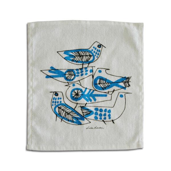 RETRO BIRD(レトロ・バード)ハンドタオル/Lisa Larson(リサラーソン)/opto design