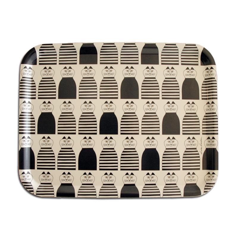 "Wooden Tray""Minmi(ミンミ)""Mサイズ/木製トレイ/Lisa Larson(リサラーソン)/opto design(オプトデザイン)スウェーデン"
