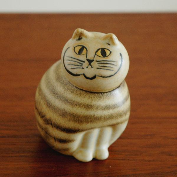 MIA cat ミア・ネコ ブラウン ミニサイズ Lisa Larson(リサ ラーソン) オブジェ・置物