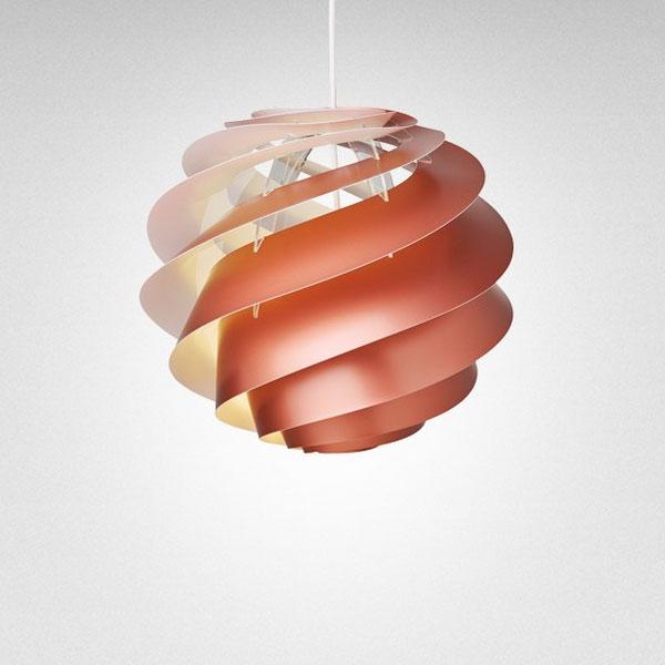 【受注発注品】LE KLINT(レ・クリント)Swirl(スワール)3  Copper(コッパー)/スモールサイズ/北欧ペンダントライト