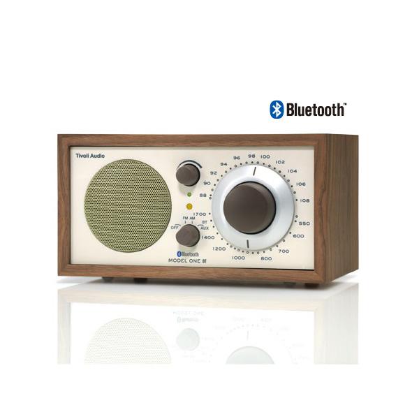 Model One BT(モデル・ワン ビーティー)Bluetooth対応モデル/ウォールナット×ベージュ/ラジオ/Tivoli Audio(チボリオーディオ)
