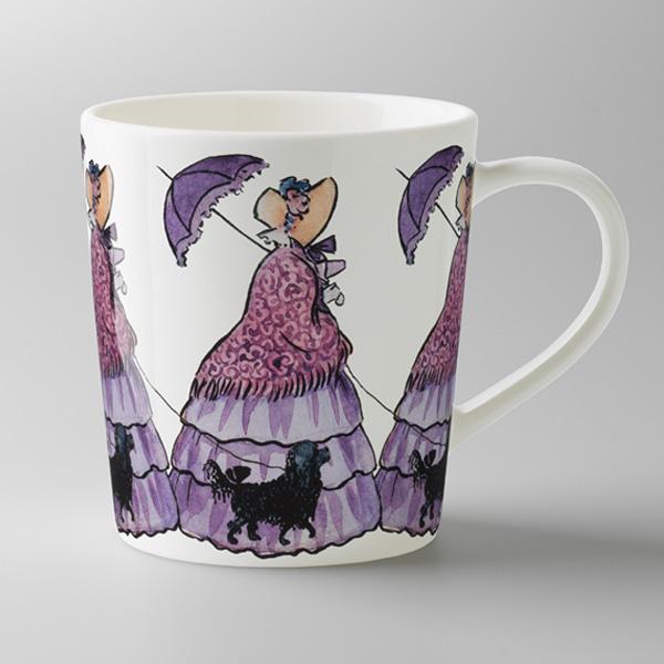 エルサべスコフ・マグカップAunt Lavender(むらさきおばさん)・DESIGN HOUSE stockholm(デザインハウス ストックホルム)