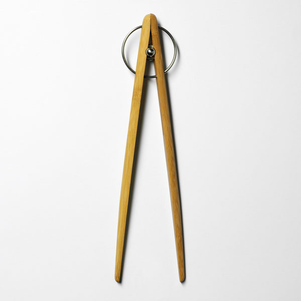 Pick up TONG bamboo 26cm・Mサイズ/DESIGN HOUSE stockholm(デザインハウス ストックホルム)/木製トング