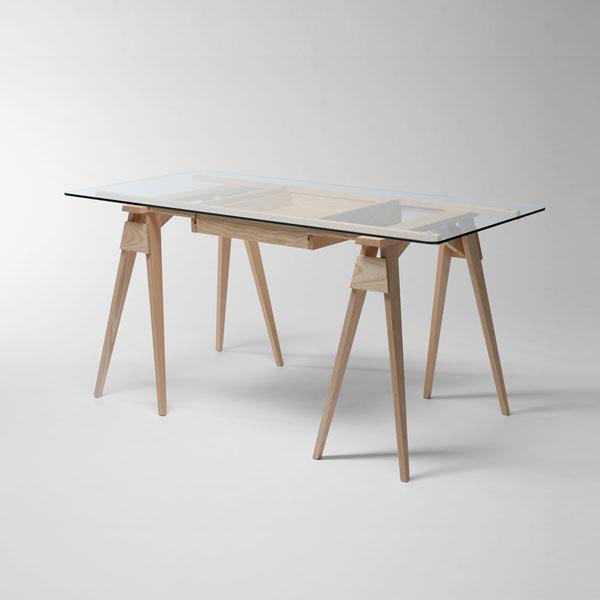 ARCO DESK (アルコ・デスク)Oak(オーク)/DESIGN HOUSE stockholm(デザインハウス ストックホルム)