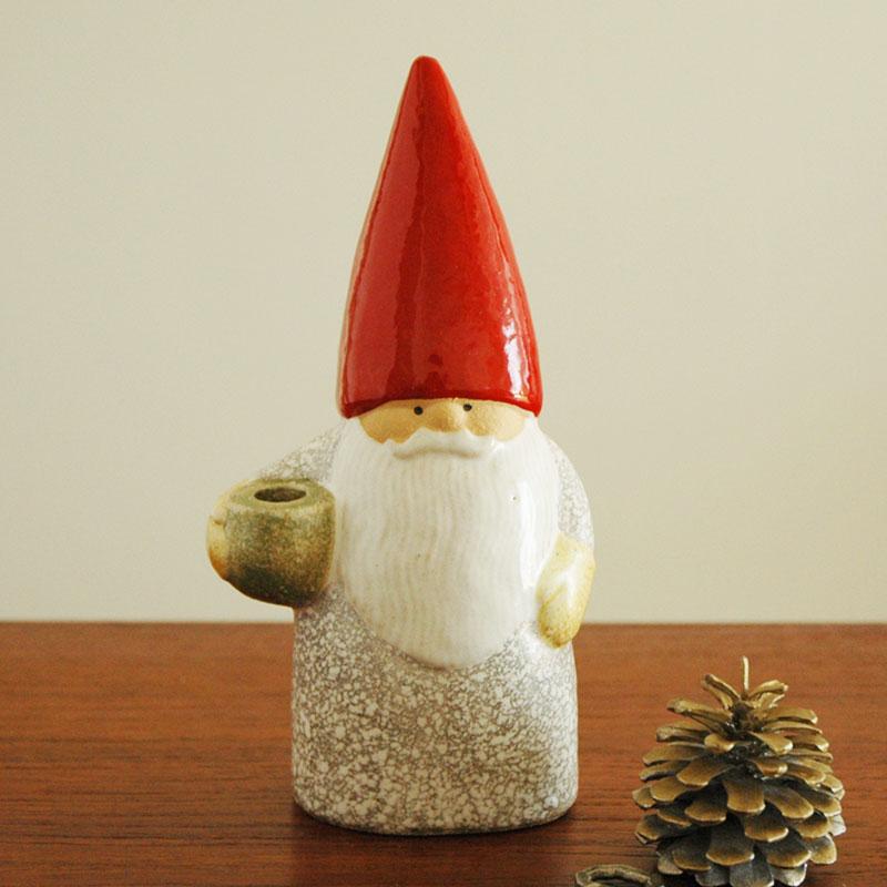 Santa Father(サンタ・ファザー)トムテファミリー Lisa Larson(リサ ラーソン) 北欧オブジェ・置物